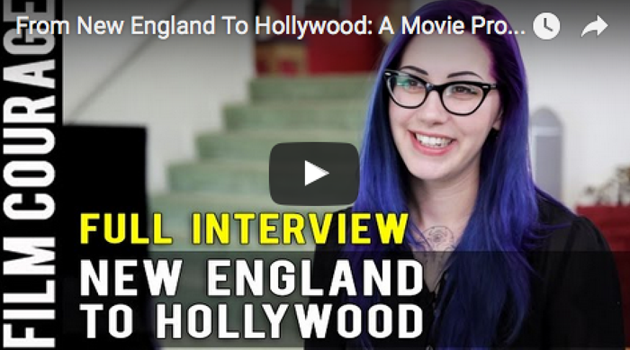 From New England To Hollywood- A Movie Producer's Journey - Full Interview with Mallory O'Meara_filmcourage_Yamasong_Movie_women_in_film