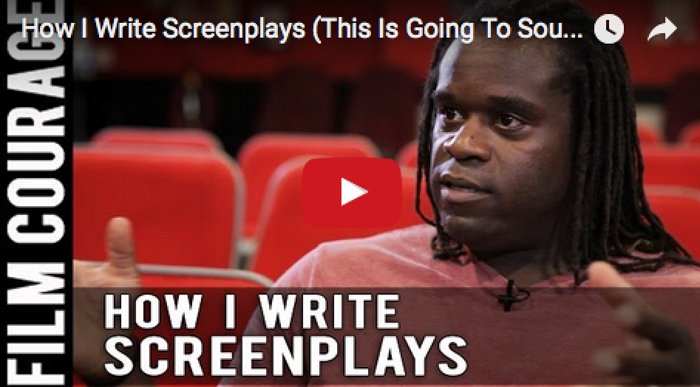 How_I_Write_Screenplays_This_Is_Going_To_Sound_Terrible_Markus_Redmond_filmcourage_writer_am_writing_screenwriting_tips_author
