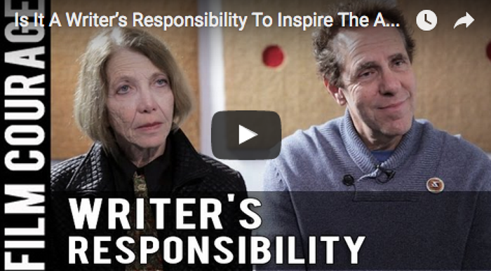 writers responsibility Atwood urges that writers take moral responsibility and use their voice atwood describes canadians as an audience that wants to be entertained by writers, giving readers a distraction from reality and.