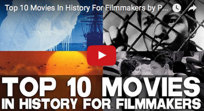 Top 10 Movies In History For Filmmakers by Professor Robert Gerst