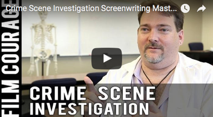Crime_Scene_Investigation_Screenwriting_Masterclass_Professor_Ron_filmcourage_script_writing_script