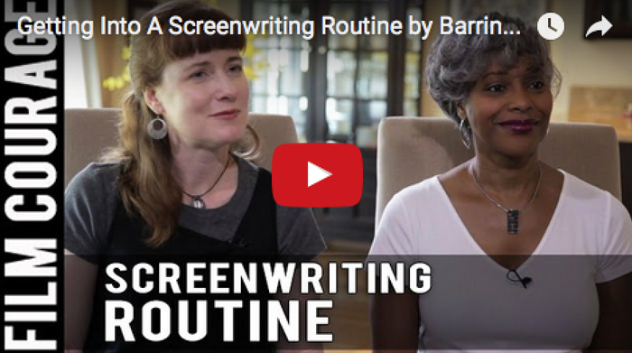 Getting_Into_A_Screenwriting_Routine_Barrington_Smith-Seetachitt_Janice_Rhoshalle_Littlejohn_filmcourage_women_writers_writing_script_screenplay