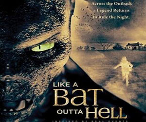 like a bat outta hell