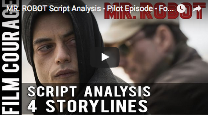 MR_ROBOT_Script_Analysis_Pilot_Episode_Four_Storylines_Cold_Open_Elliot's_Core_Wound_filmcourage_tv_television_series_screenwriting_writer's_room