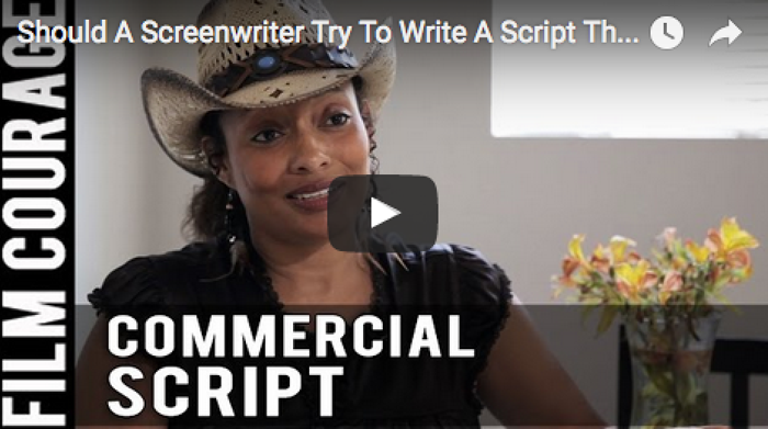 Should_A_Screenwriter_Try_To_Write_A_Script_That_Is_Commercial_Tamika_Lamison_filmcourage_women_writers_am_writing_screenwriting_women_in_film_booktube