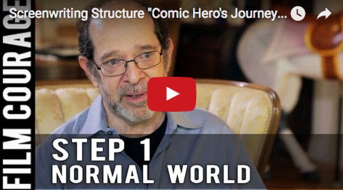 screenwriting-structure-comic_heros_journey_step_1_the_normal_world_steve_kaplan_filmcourage_comedy_writing