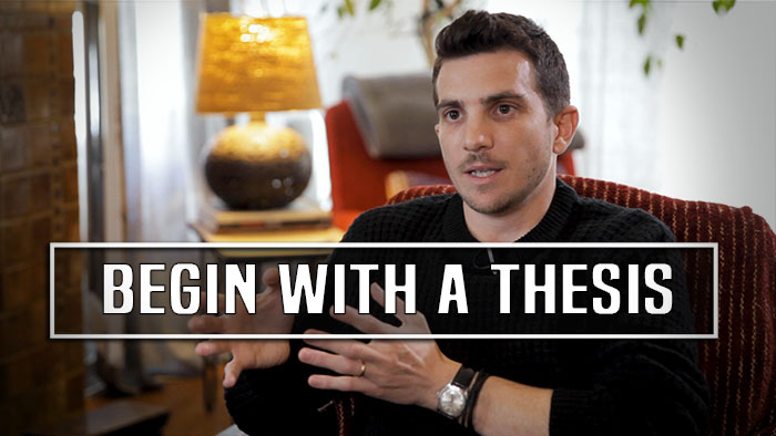 Advice To Young Filmmakers by Matthew Berkowitz