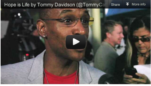 Hope is Life by Tommy Davidson (@TommyCat) at Comic-Con Movie Premiere_Filim_Courage_Acting