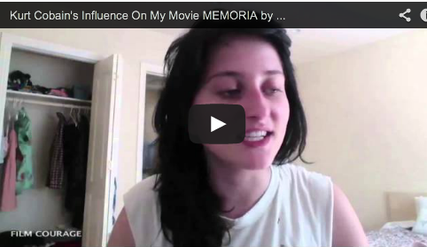 Kurt Cobain's Influence On My Movie MEMORIA by Nina Ljeti James Franco Palo Alto Stories Film Courage