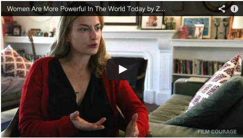 Women Are More Powerful In The World Today by Zoe Cassavetes_filimcourage_feminism_society