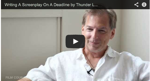 Writing A Screenplay On A Deadline by Thunder Levin_sharknado_2_the_second_one_syfy_filmcourage
