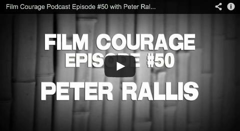 Film Courage Podcast Episode #50 with Peter Rallis of MOVIE BUZZ RallisP Youtube Movie Buzz Indy Mogul