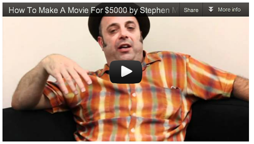 How To Make A Movie For $5000 by Stephen Moramarco_Film_Courage_Acting
