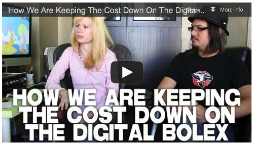 How We Are Keeping The Cost Down On The Digital Bolex by Elle Schneider & Joe Rubinstein Film Courage