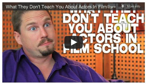What They Don't Teach You About Actors In Film School by Tennyson Stead Film Courage