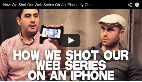 How We Shot Our Web Series On An iPhone by Chad Diez & Art Hall LAPS THE SERIES Rachae Thomas Webseries Film Courage