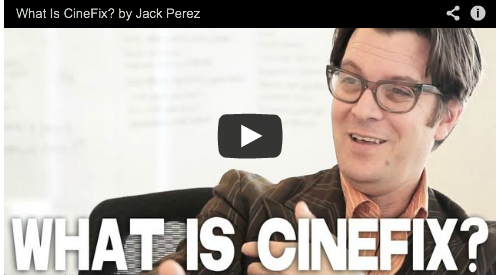 What Is CineFix? by Jack Perez Trailer Hitch Film Courage Mega Shark vs Giant Octopus