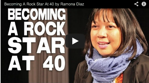 Becoming A Rock Star At 40 by Ramona Diaz Arnel Pineda Journey the band Film Courage Don't Stop Believin Everyman's Journey