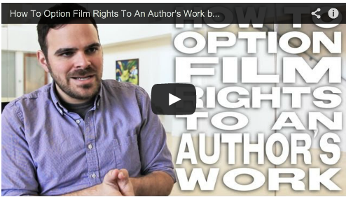 How To Option Film Rights To An Author's Work by Kyle Patrick Alvarez Film Courage Easier with Practice COG Spirit Award Someone to Watch