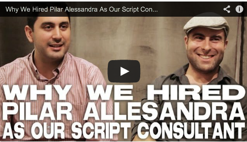 Why We Hired Pilar Alessandra As Our Script Consultant by Chad Diez & Art Hall Laps the WebSeries Film Courage Iphone Filmmaking