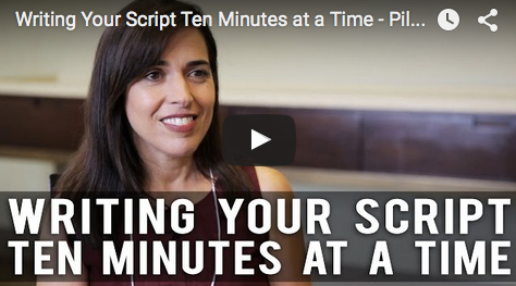 Writing_Your_Script_Ten_Minutes_at_a_Time_Pilar_Alessandra_Full_Interview_filmcourage_story_expo_screenwriting_film_and_television