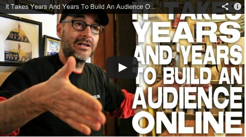 It Takes Years And Years To Build An Audience Online by Joe Wilson Film Courage Vampire Mob Webseries Independent Filmmaker