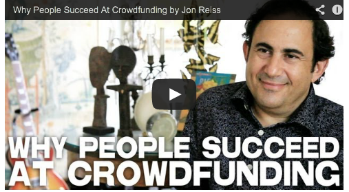 Why People Succeed At Crowdfunding by Jon Reiss PMD Film Courage Think Outside The Box Office