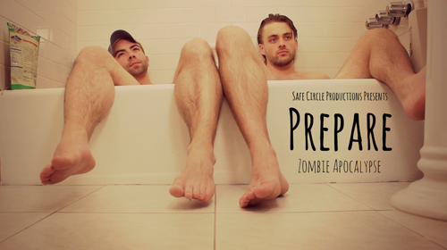 Andreas Damm Jacob-Sebastian Phillips Prepare Zombie Apocalypse with Safe Circle Productions Film Courage 1