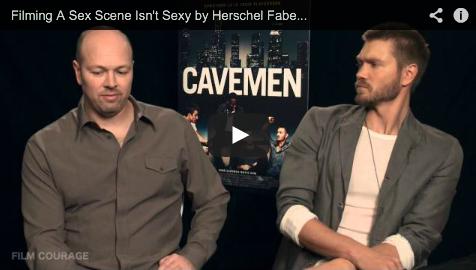Filming_A_Sex_Scene_Isn't_Sexy_Herschel_Faber_Chad_Michael_Murray_Of_CAVEMEN_filmcourage_Dating_Romantic_Comedy_Cinema