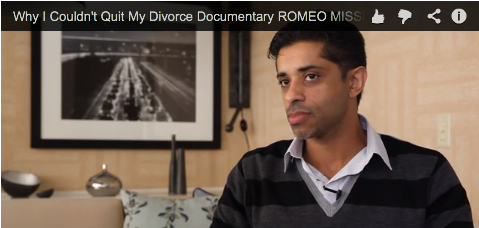 Why I Couldn't Quit My Divorce Documentary ROMEO MISSES A PAYMENT by Angelo Lobo_Filmcourage_Family_Law