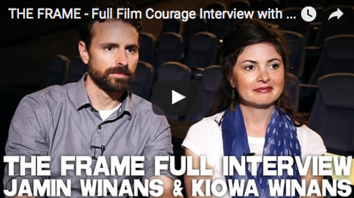 THE_FRAME_Interview_Jamin_Winans_Kiowa_Winans_filmcourage_INK_colorado_Spin_independent_filmmaking