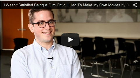 I Wasn't Satisfied Being A Film Critic, I Had To Make My Own Movies by Benjamin Walter_filmcourage_indie_film_independent_filmmaking_film_criticism