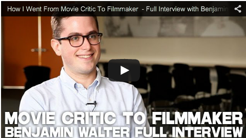 How I Went From Movie Critic To Filmmaker - Full Interview with Benjamin Walter_Pink_Zone_movie_indie_filmmaking_independent_filmmaking_tips_advice