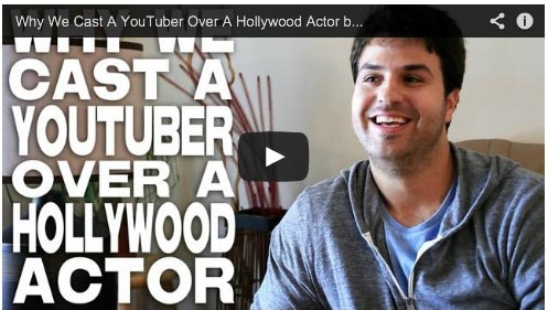 Why We Cast A YouTuber Over A Hollywood Actor by Zoran Lisinac ALONG THE ROADSIDE Iman Crosson