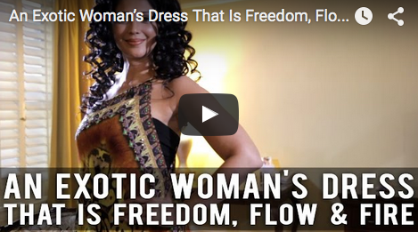 An_Exotic_Woman's_Dress_That_Is_Freedom_Flow_Fire_Kalpana_Pandit_filmcourage_Shahida_Parides_Dresses_clothing_prints_Bollywood_film