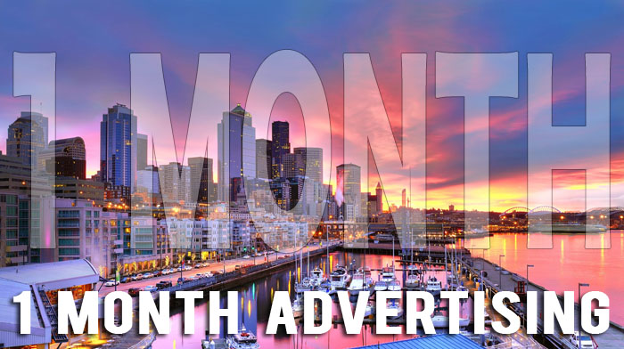 Film Courage Services 1 Month Advertising