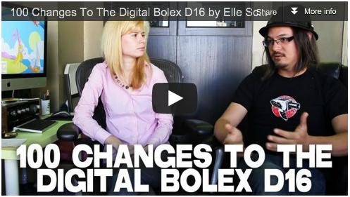 100 Changes To The Digital Bolex D16 by Elle Schneider & Joe Rubinstein Film Courage