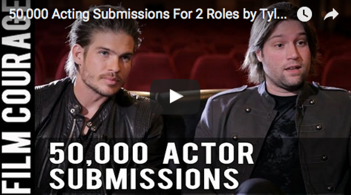 50,000_Acting_Submissions_For_2_Roles_Tyler_Johnson_Pascal_Payant_filmcourage_acting_tips_actors_auditions_Los_Angeles