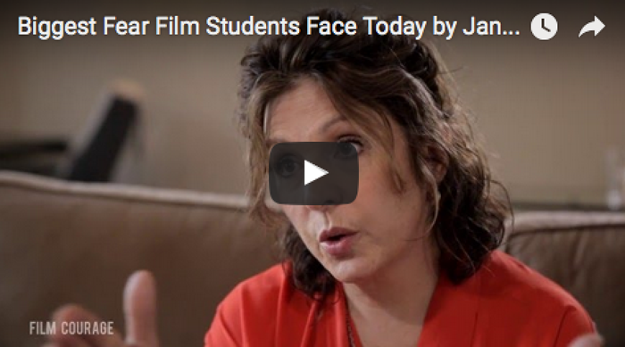 Biggest Fear Film Students Face Today by Janet Grillo