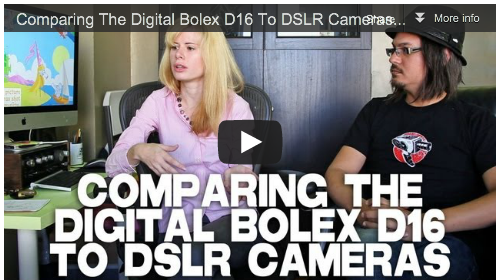 Comparing The Digital Bolex D16 To DSLR Cameras by Elle Schneider and Joe Rubinstein Film Courage