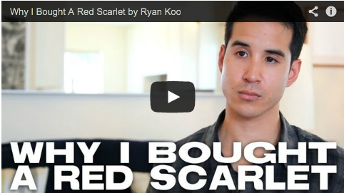 Why I Bought A Red Scarlet by Ryan Koo NoFilmSchool Film Courage DSLR Camera