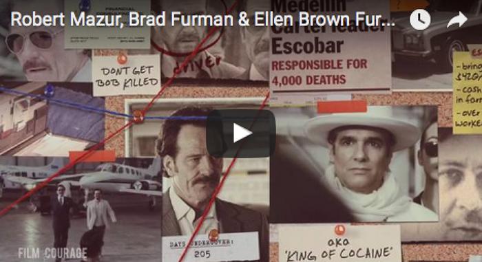 Robert_Mazur_Brad_Furman_Ellen_Brown_Furman_THE_INFILTRATOR_LA_Press_Roundtable_filmcourage_movies_pablo_escabar_miami_1980s