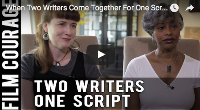 When_Two_Writers_Come_Together_For_One_Screenplay_Barrington_Smith_Janice_Littlejohn_filmcourage_screenwriting_writer