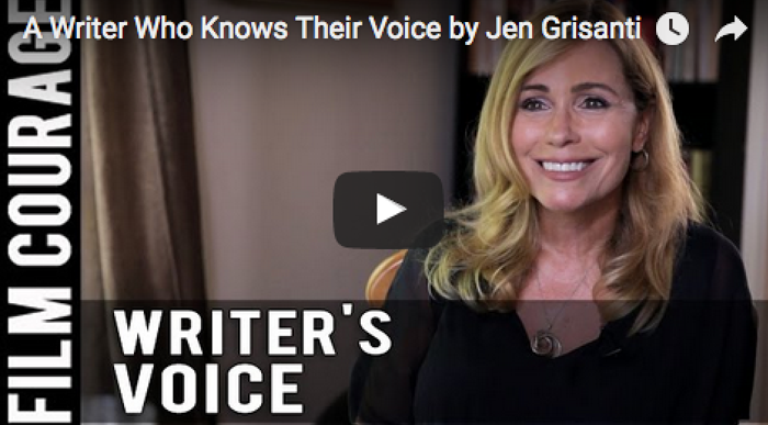 A_Writer_Who_Knows_Their_Voice_Jen_Grisanti_filmcourage_booktube_writing_authors_am_writing_creative_women_in_film