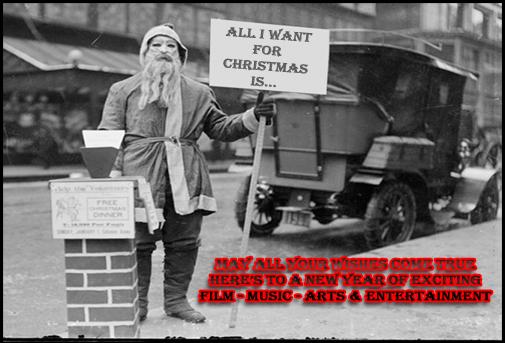 Creepy Santa wishes you a Happy Holiday
